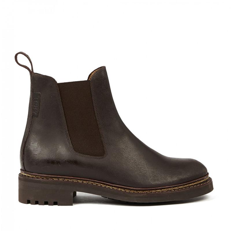 2 Monbrison Aigle Femme 36 Chaussures Brown Dark Baumel CxoBdre