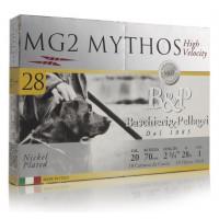 CARTOUCHES B&P MG2 MYTHOS 28 HV CALIBRE 20 - 28G - PB 7