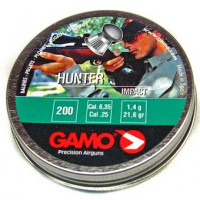 PLOMBS GAMO HUNTER STRIE 6.35 PAR 200