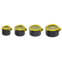 CACHE JAUNE OPTIQUE CHASSE QUAKE TAILLE 4 35 A 40 MM