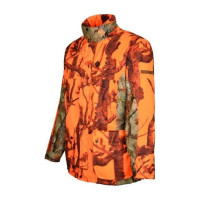 VESTE CHASSE GRAND NORD GHOSTCAMO BLAZE-BLACK 2XL