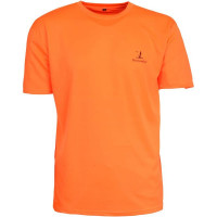T-SHIRT CHASSE FLUO ORANGE L