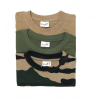 PACK DE 3 T-SHIRTS DONT 1 CAMO M