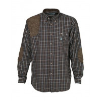 CHEMISE CHASSE SOLOGNE MARRON S