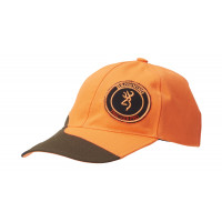 CASQUETTE BROWNING TRACKER ORANGE/VERTE