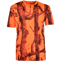 T-SHIRT CHASSE FLUO GHOSTCAMO M