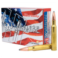 BALLES HORNADY AMERICAN WHITETAIL INTERLOCK CALIBRE 30-06 150 GR
