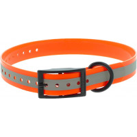 COLLIER POLYURETHANE REFLECHISSANT ORANGE