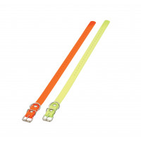 COLLIER POLYURETHANE ORANGE2.5X0.25X60CM