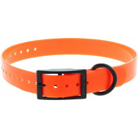 COLLIER POLYURETHANE ORANGE1.9X0.25X45CM