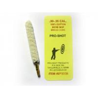 ECOUVILLON EN COTON PRO-SHOT CALIBRE 30/35