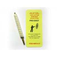 ECOUVILLON EN COTON PRO-SHOT CALIBRE 24/27