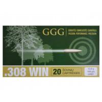 BALLES GGG CALIBRE 308 WIN 168 GR