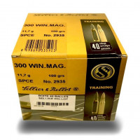 CARTOUCHES SELLIER & BELLOT CAL.300 WIN 180 GR SPCE
