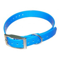 COLLIER HB DOG BIOTHANE BIOGOLD 2.6X600X25 MM BLEU