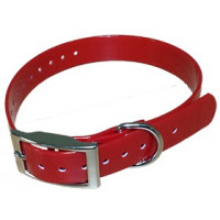 COLLIER HB DOG BIOTHANE BIOGOLD 2.6X600X25 MM ROUGE