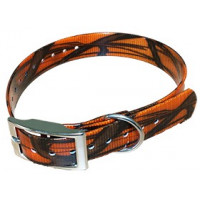 COLLIER HB DOG BIOTHANE BIOGOLD CAMO 600X25 MM ORANGE