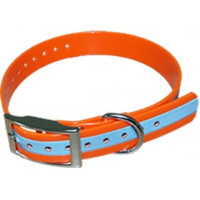 COLLIER HB DOG BIOTHANE BIOGOLD REFLECTIVE 600X25MM ORANGE