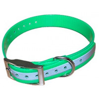 COLLIER HB DOG BIOTHANE BIOGOLD REFLECTIVE 600X25MM VERT