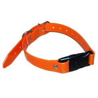 COLLIER HB DOG CLIP RAPID BIOTHANE BIOGOLD ORANGE