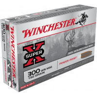 BALLES WINCHESTER SUPER X POWER POINT CALIBRE 300 WM 150 GR