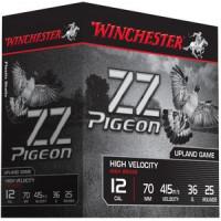 CARTOUCHES WINCHESTER ZZ PIGEON CALIBRE 12 - 36 G - BJ - PB 6