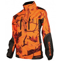 VESTE DE TRAQUE SOMLYS LADY ANTI RONCES CAMO FIRE ORANGE L