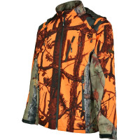 BLOUSON SOFTSHELL GHOSTCAMO BLAZE 3XL