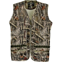 GILET DE CHASSE PERCUSSION GHOST CAMO WET M