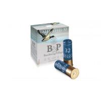 CARTOUCHES B&P VALLE STEEL MAGNUM HV CALIBRE 12 - 32 G - BJ - PB 3