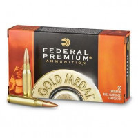 BALLES FEDERAL GOLD MEDAL MATCH CALIBRE 308 WIN 168 GR