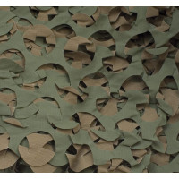 FILET DE CAMOUFLAGE 2.4 X 1 M MARRON / KAKI