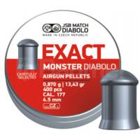 PLOMBS JSB DIABOLO EXACT MONSTER DIAM.4.52 PAR 400