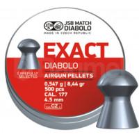 PLOMBS JSB DIABOLO EXACT DIAM.4.5 PAR 500