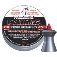 BOÎTE 200 PLOMBS JSB DIABOLO PREDATOR POLYMAG CAL.4.5