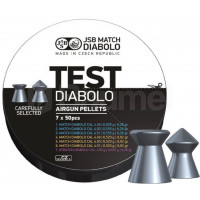 PLOMBS JSB DIABOLO MATCH TEST MIDDLE WEIGHT CAL.4.5 DIAM.4.5 PAR 350