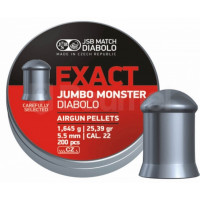 PLOMBS JSB DIABOLO JUMBO EXACT MONSTER DIAM.5.52 PAR 200