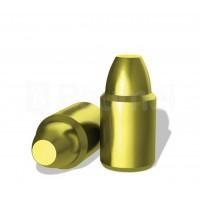 BALLES H&N 38/357 SWC GOLD DIAM.357 -158GR X500