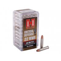 BOITE DE 50 CARTOUCHES HORNADY 22 WMR 45 GR FTX CD