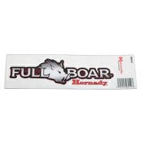 HORNADY FULL BOAR STICKER