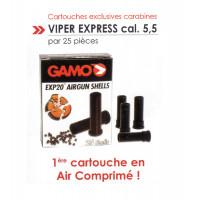 CARTOUCHES GAMO POUR VIPER EXPRESS 5,5 * 25