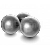 BALLES H&N RONDES POUDRE NOIRE CAL.44/400 X100