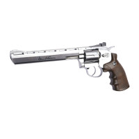 REVOLVER ASG DAN WESSON 8 POUCES CHROME MAT C.4.5 BB CO2