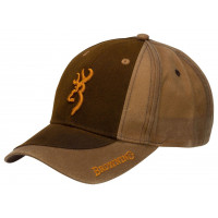 CASQUETTE BROWNING TWO TONE MARRON