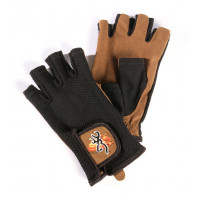 GANTS MITAINES DE TIR BROWNING CLAY MESH BACK NOIR/BEIGE-XL