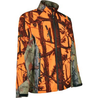 BLOUSON DE CHASSE PERCUSSION SOFTSHELL GHOST TAILLE 10 ANS