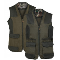 GILET DE CHASSE PERCUSSION TRADITION BRODE TAILLE 4XL