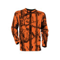T-SHIRT CHASSE FLUO GHOSTCAMO PERCUSSION TAILLE 2XL