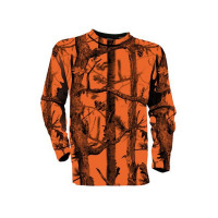 T-SHIRT CHASSE FLUO GHOSTCAMO PERCUSSION TAILLE XL