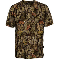 T−SHIRT MANCHES COURTES PERCUSSION GHOSTCAMO TAILLE XL